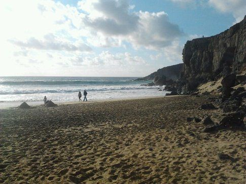 El Cotillo è una delle spiagge più suggestive al nord di Fuerte