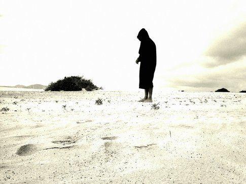 Scorcio desertico alla spiaggia del Burro