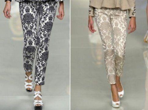 pantaloni e scarpe Roccobarocco