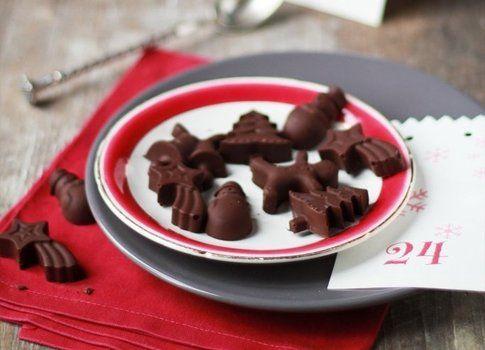 cioccolatini per calendario avvento, realizzazione e foto di Benedetta Marchi