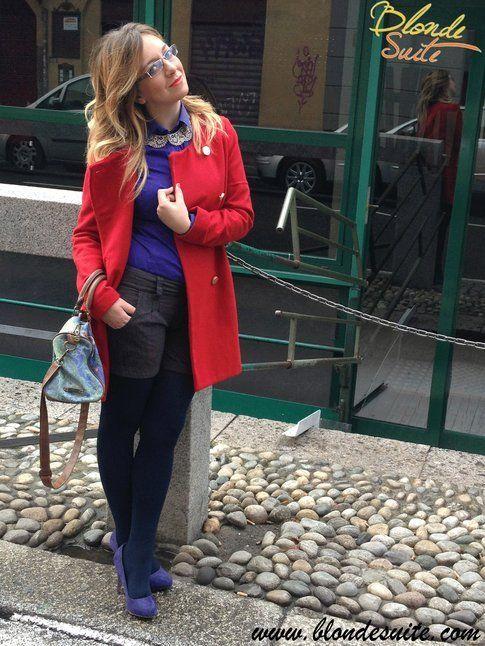 L'outfit di Blonde suite