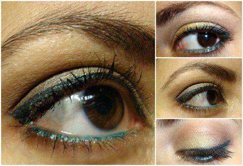 Il make up occhi di Francesca