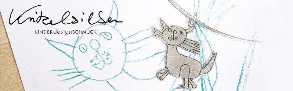 L'arte dei bambini trasformata in gioielli: il gusto della felicità di Kritzelsilber
