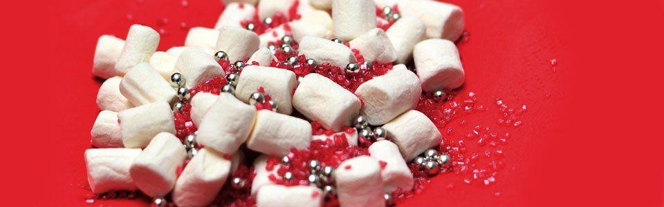 I marshmallow all'americana per i vostri regali di Natale