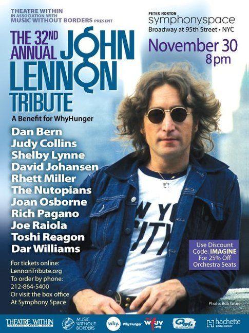 La locandina di Lennon Tribute