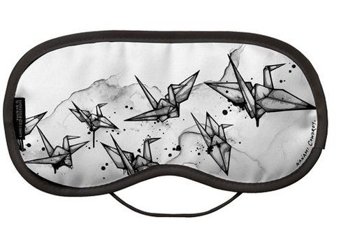 Nanami Cowdroy Cable Cranes EyeMask Limited Edition Eye Mask