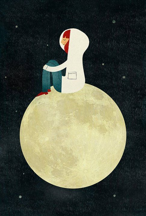 On the Moon di Blanca Gomez
