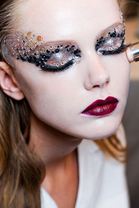 Make up glitter: fantastico per capodanno!
