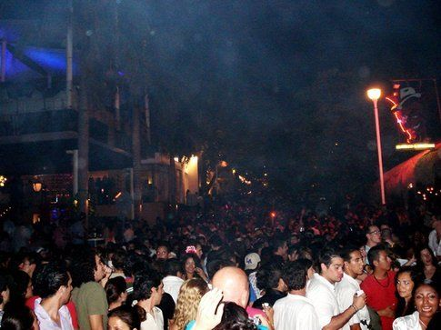 Capodanno a Playa del Carmen, Quinta Avenida
