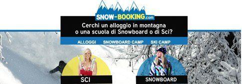 Snow-booking il nuovo portale per le vacanze sulla neve