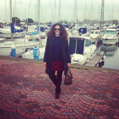 L'outfit di Eleonora Moretti