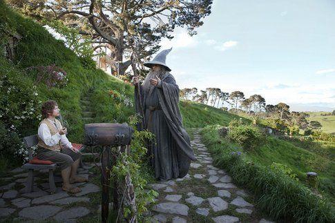 """Foto di produzione de """"Lo Hobbit: Un viaggio inaspettato"""""""