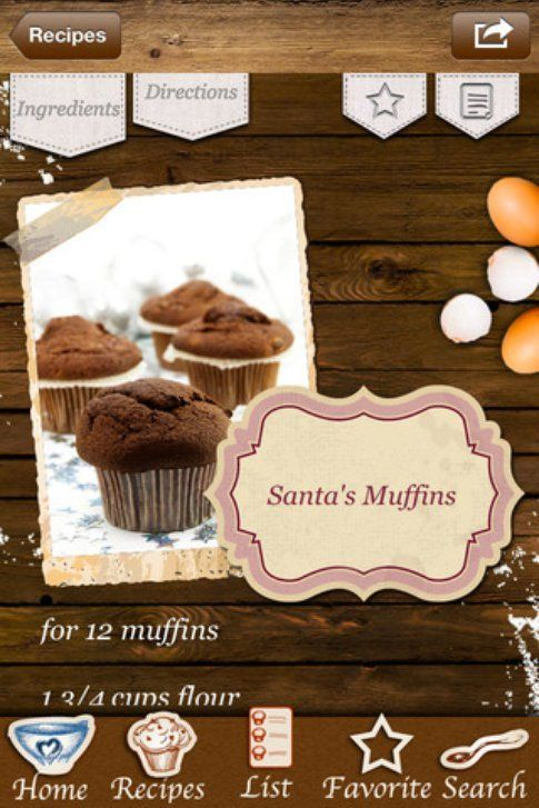 Christmas Cupcakes & Holiday Muffins
