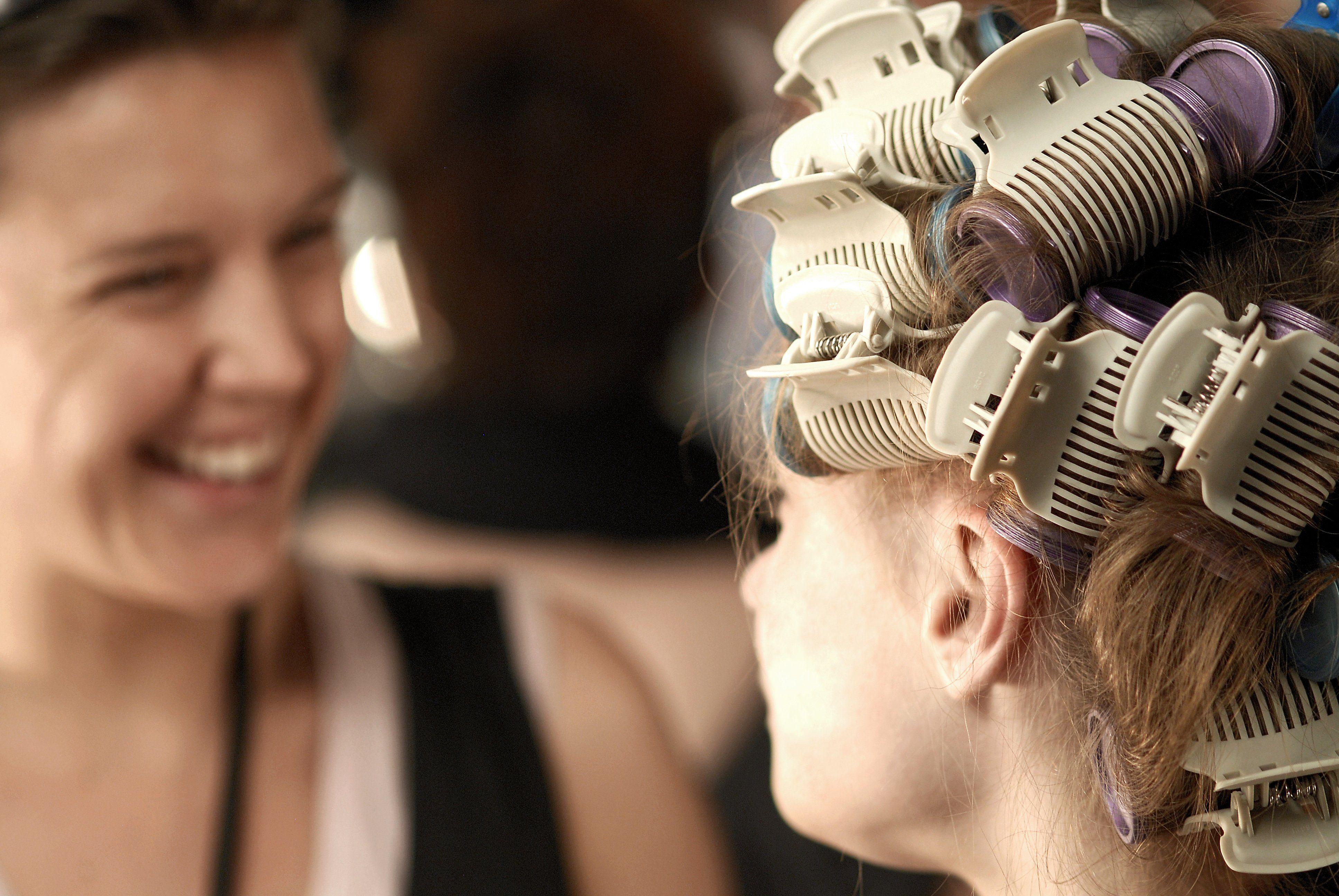 Bigodini termici capelli corti