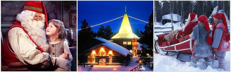 Babbo Natale esiste davvero: la sua casa è a Rovaniemi!