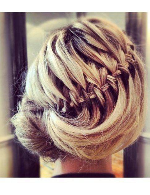 Freccia e ciambella: hairstyle chic!