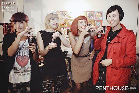 le ragazze di Penthouse