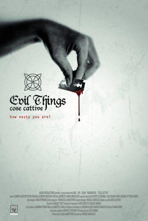 Locandina di Evil Things - Cose Cattive
