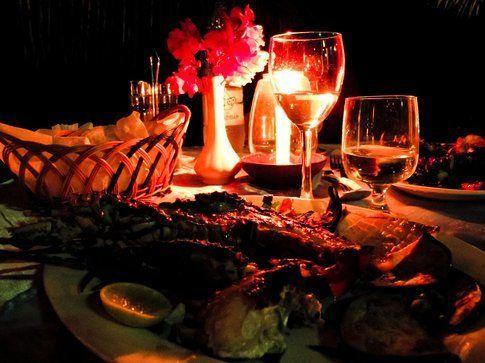 Cena a base di aragosta al My Blue Hotel