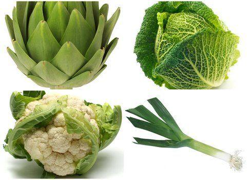 mix verdure stagione di gennaio