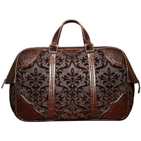 borsa in velluto jacquard Gucci