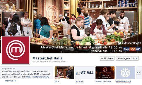 La copertina di Masterchef Italia