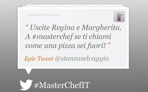 Epic tweet by Masterchef di Selvaggia Lucarelli
