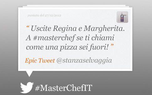 Epic tweet by Masterchef di Selvaggia Lucarelli