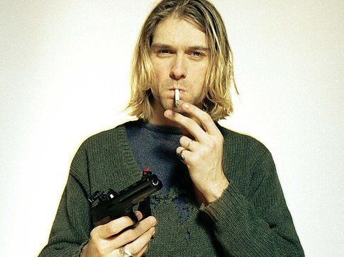 Kurt Cobain - foto da Wallpaper