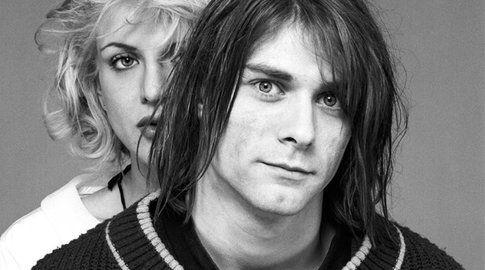 Kurt Cobain e Courtney Love - foto da Retronaut