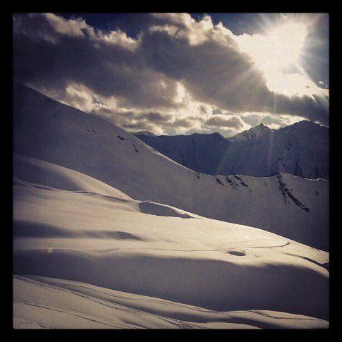 Sicurezza prima di tutto in neve fresca! Foto di Eleonora Raggi