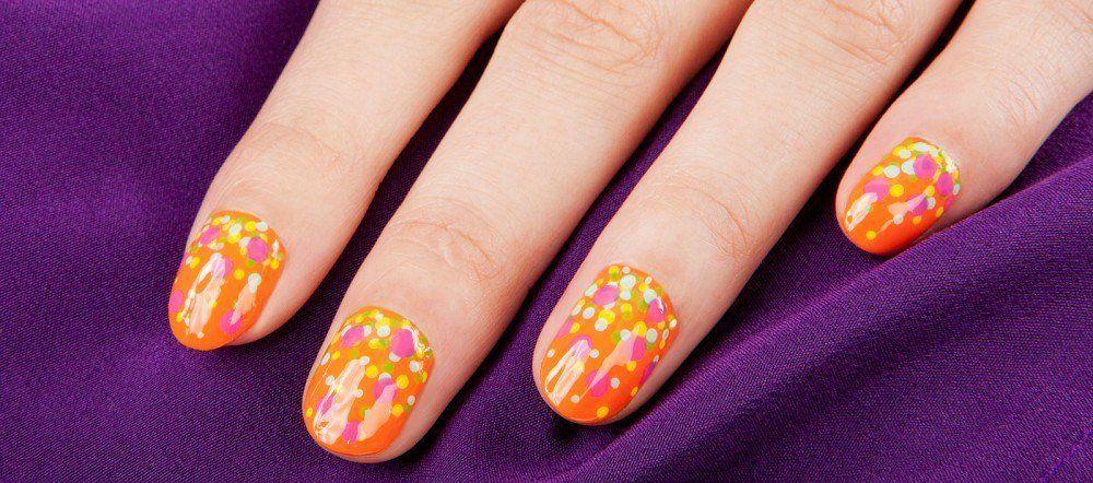 Nail art passo passo: bubbly effect