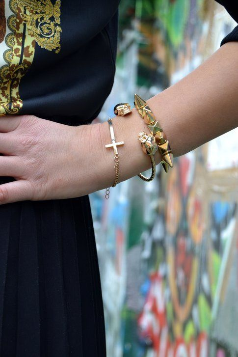 L'outfit di Blue Nail Girl