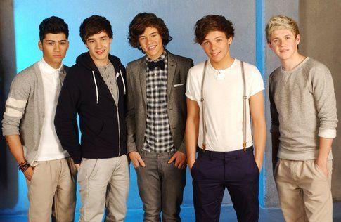 I One Direction - foto da Fan Page