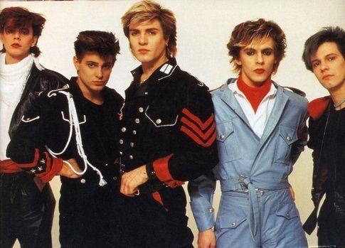 I Duran Duran negli anni '80 - foto Duran.com