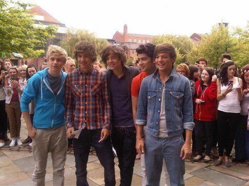 One Direction - foto Onedirectionmusic.com