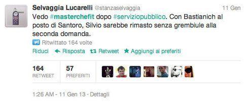 tweet di @stanzaselvaggia
