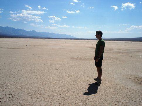 Badwater, il punto più basso della Death Valley ©marziakeller
