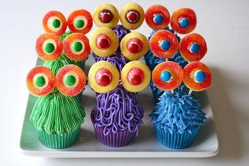 cupcake travestiti da mostri