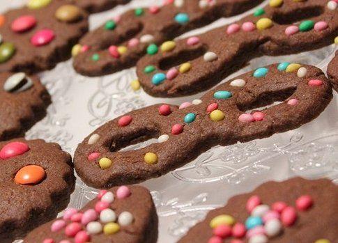 biscotti di carnevale dal blog Le leccornie di Danita