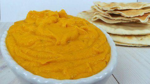 mousse di carote dal sapore marocchino