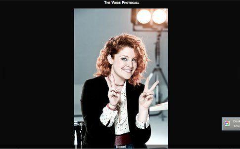 Noemi - screenshot da sito ufficiale The Voice of Italy