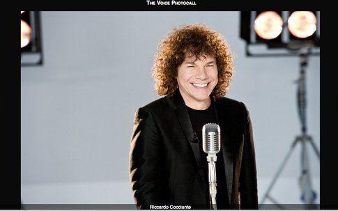 Riccardo Cocciante - screenshot da sito ufficiale The Voice of Italy