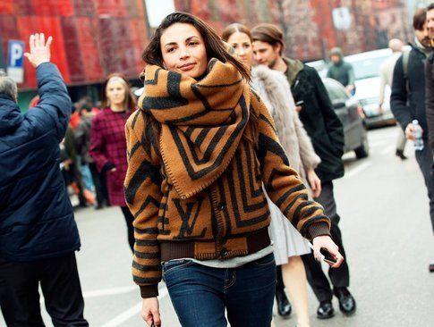 La sciarpa - coperta di Louis Vuitton