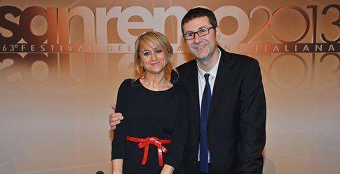 Fabio Fazio e Luciana Litizzetto - foto da repubblica