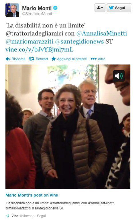 @senatoremonti e Vine