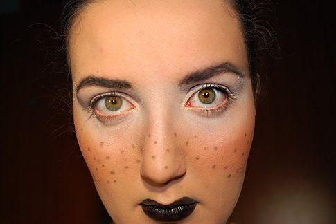 Make up Tutorial: Carnevale in bianco e nero