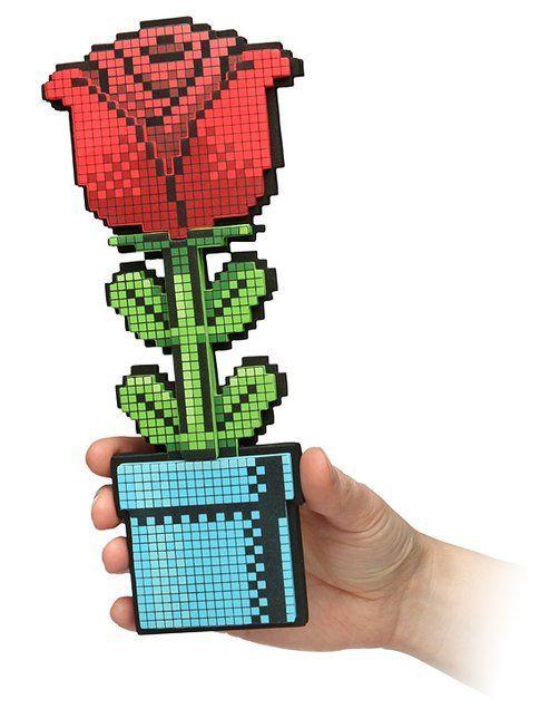 8-Bit Rose - Fonte: Thinkgeek.com