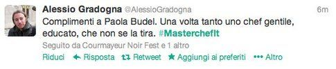 tweet di @alessiogradogna