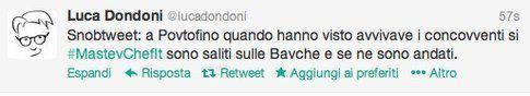 tweet di @lucadondoni